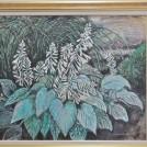 アド街で紹介された洋画家ゆかりの「杜のアトリエ黎明」で新春企画「秋元松子展~和歌と絵画と」