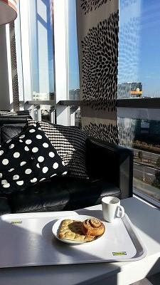 朝陽を浴びながらワクワク新生活準備@IKEA立川