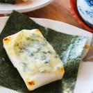 ブルーチーズと海苔の焼きもち 【時短朝食レシピ】