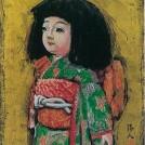 地元画家・小澤清人さんなど11人の作品を展示。1/31(土)まで「2015迎春(油彩・水彩)小品展」
