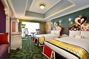 東京ディズニーランドホテルに物語の世界観が広がる新客室が登場!