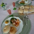お料理教室で流行りの朝食を m.k.クッキング 成瀬