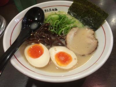 横浜「元祖熊本黒拉麺 清正」