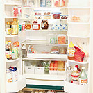 分類で、すっきり使いやすい冷蔵庫に
