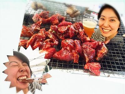 溝の口で楽ちんBBQ!屋根付きで快適に肉を焼く(飲み放題もあるよ)