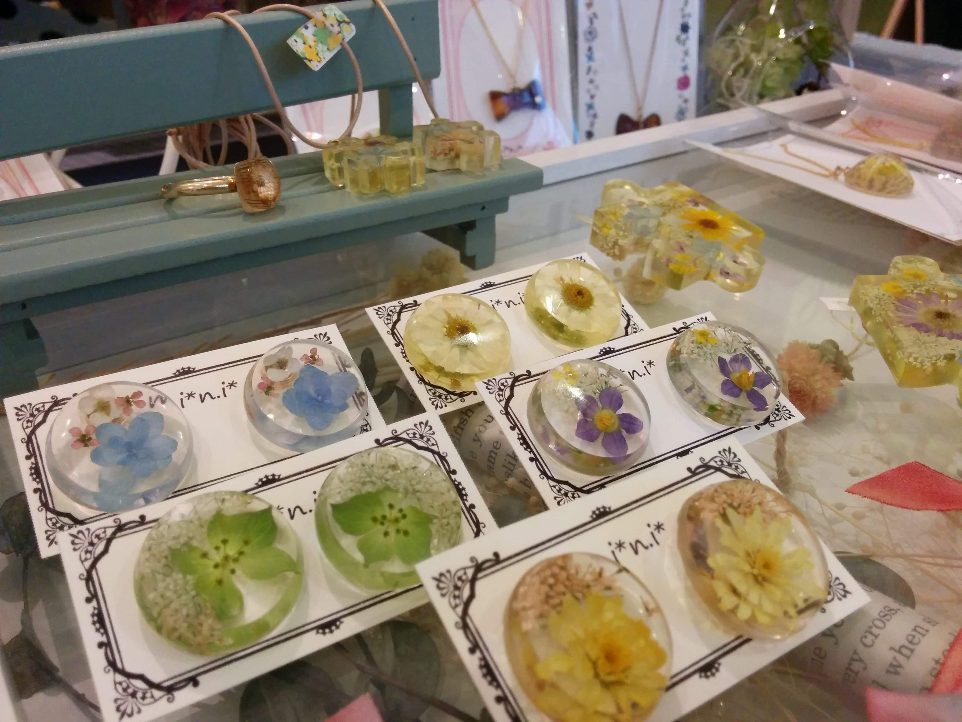 大宮の「ハンドメイドと雑貨のお店 mini*」で小さな幸せを見つけました!
