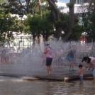 子連れでフィーバー!駅から5分の水遊び場@中野