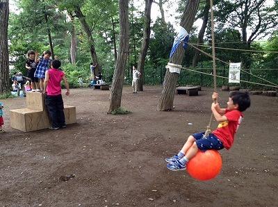 予約なし!無料!プレーパークで泥だらけ!のびっぱひろっぱ@柏の宮公園