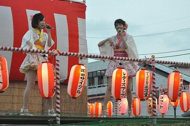 江戸川台納涼祭で大人気のコズミック☆倶楽部
