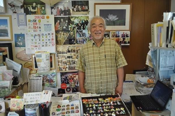 ギャラリーよしのご主人・小坂義弘さん