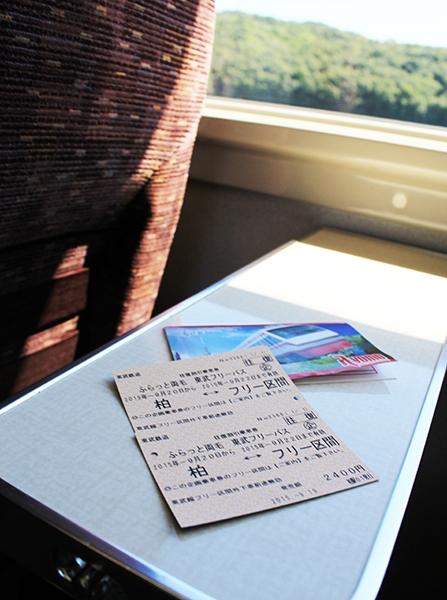 東武線の往復割引乗車券「ふらっと両毛 東武フリーパス」
