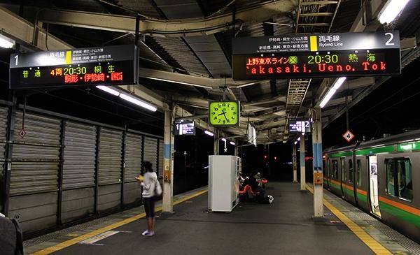 前橋同時発車20時30分柏着わずか2分差の鉄道ミステリー