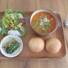 管理栄養士が作る「食堂カフェ ラパン」の野菜たっぷり元気ご飯!