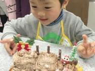 親子ケーキ教室