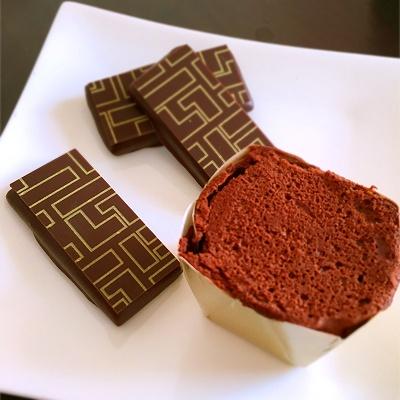 の チョコレート 炎