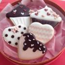茨木のアイシングクッキー教室「カプリ」で手作りバレンタイン♪