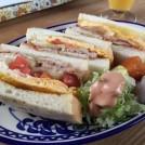「かしわ」deイギリスのパン サンドイッチ編