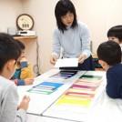 子どもの自由表現の力が伸びる!?西宮「こども色彩教室」