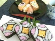 飾り巻き寿司入門講座 お弁当や春の行楽にもおすすめ