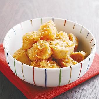 【レシピ】ほっくほっくお芋のピリ辛煮
