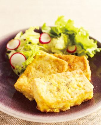 【レシピ】高野豆腐のピカタ