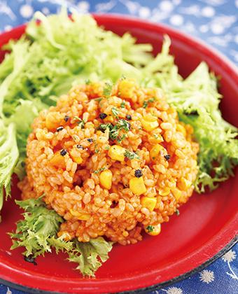 【レシピ】野菜でメキシカンライス