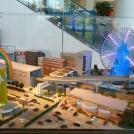 リニア中央新幹線の開通が待ち遠しい!未来のジオラマ展示も@アリオ橋本