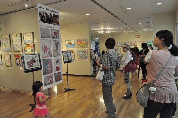 30毎春続けてきた福島県相馬市の子どもたちの作品展