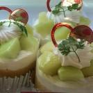 日テレ「エヴリィ」が取材、菓子工房あおい(守谷)のメロンのケーキ(イバラキング等)は今が旬