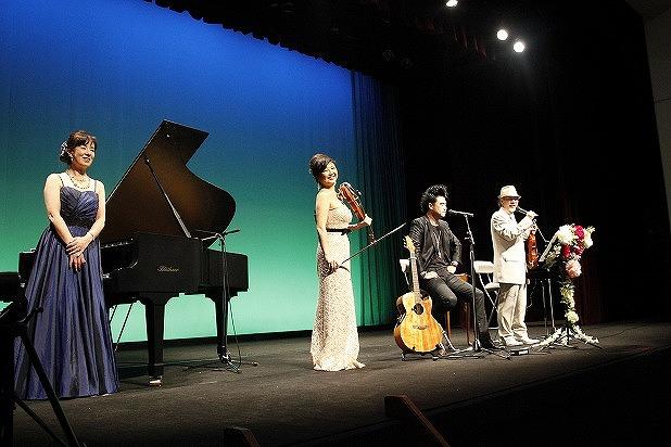 24・3月9日、流山市生涯学習センターで行われたコンサート絆Ⅴ