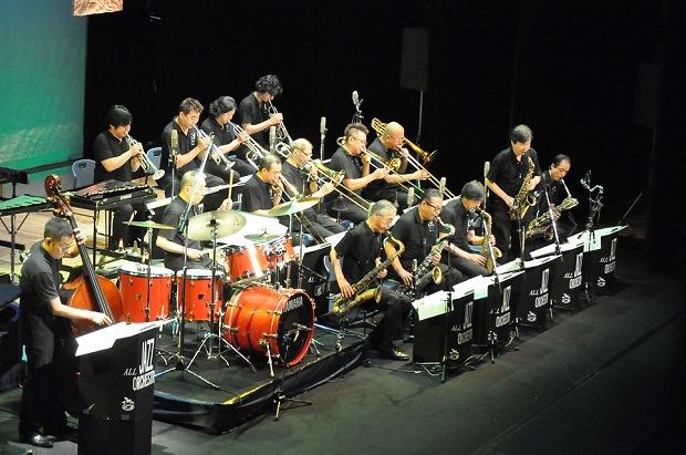 猪俣猛ジャズオーケストラ  (昨年、文化会館で)