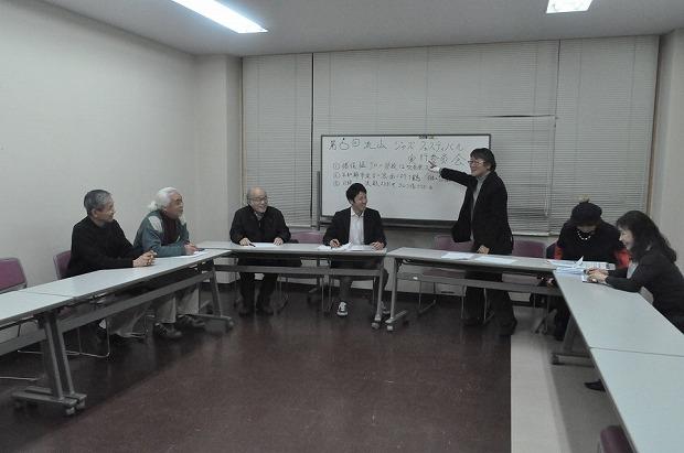 実行委員会(流山市生涯学習センターで)