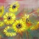 【受付け終了】花の絵 ファンタジック水彩画(6回)