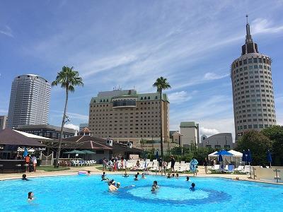 水着でランチも♪リゾート気分を満喫@ホテルニューオータニ幕張