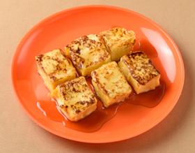 高野豆腐の「フレンチトースト」