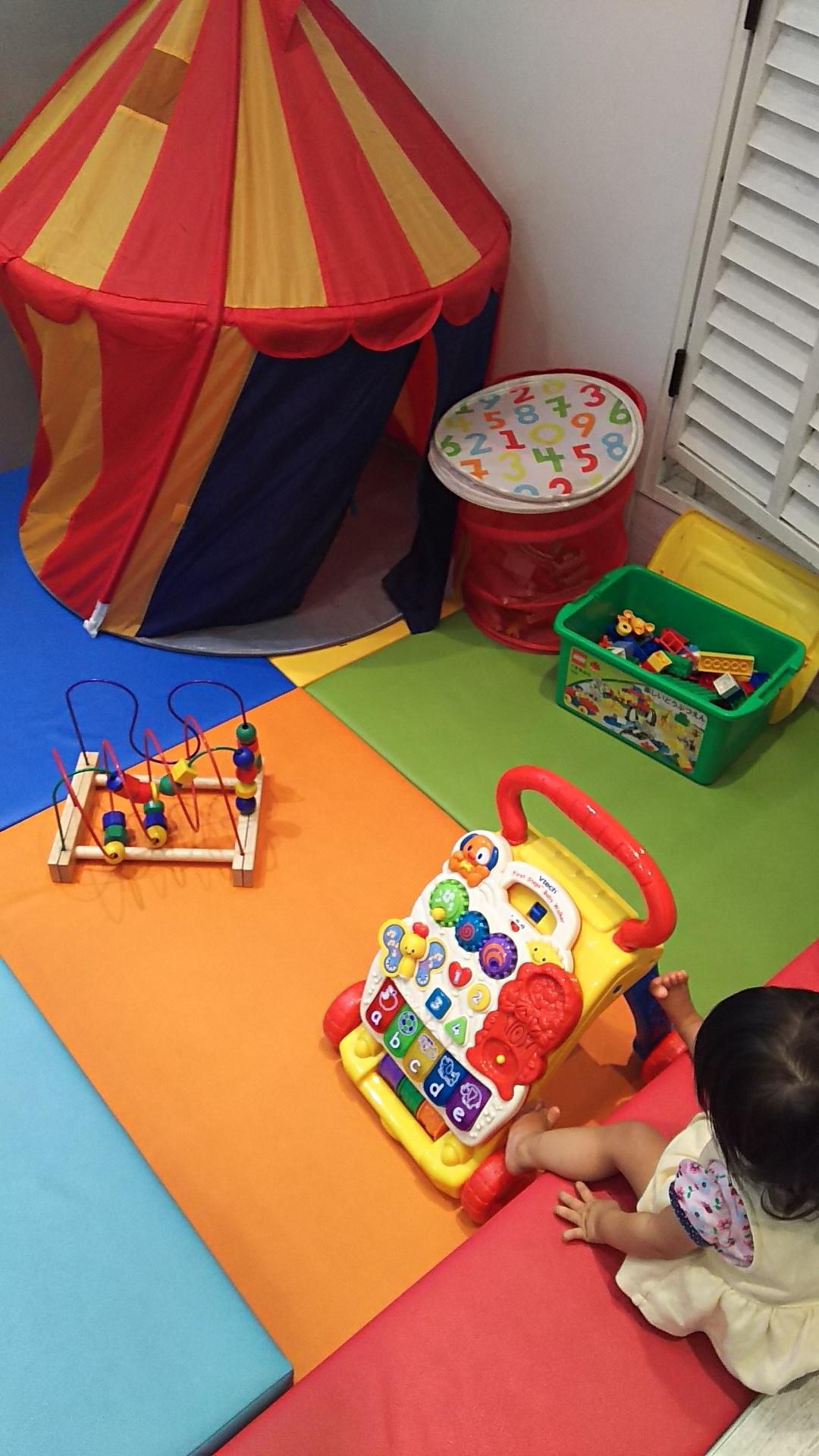 プレイコーナーのあるカフェ「ミル」。親子でヘアカットもできる@吉祥寺