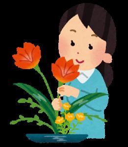 花を楽しむ講座「花を暮らしに取り入れる」座間市立北地区文化センター