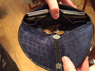 TIP ZONE 財布使用例