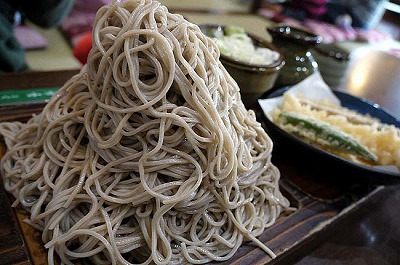 1kgのお蕎麦に挑戦!!都筑区佐江戸の『味奈登庵』