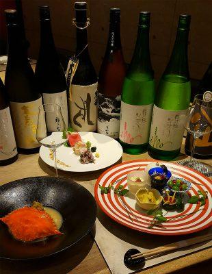 むらかみ_日本酒ペアリングコース