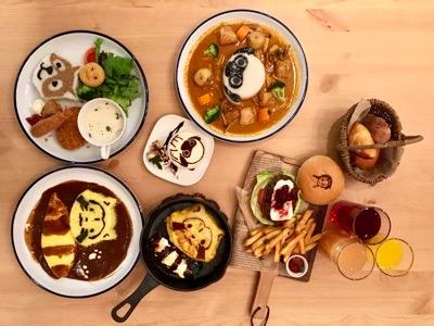 懐かしキャラがあのスイーツに♡世界名作劇場カフェ&レストラン