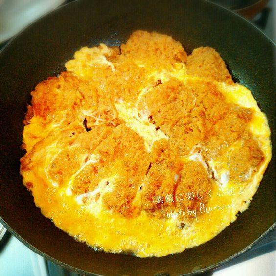 ■めんつゆで簡単にできちゃう!絶品かつ丼の作り方