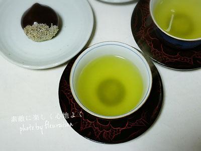 インフルエンザ予防にカテキン!煎茶で楽しむ和菓子はいかが?