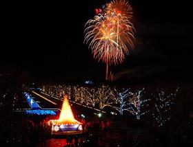 昭和記念公園イルミ2016