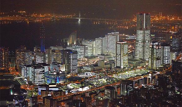 TOWERS Milight~みなとみらい21オフィス全館ライトアップ~
