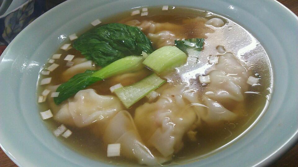 中国「ワンタン麺」|ボスの濱歩き