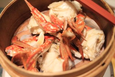 1年頑張った自分へのご褒美、浦安ブライトンの中華で海老蟹を食べつくせ!