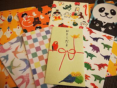 100円ショップ「ザ・ダイソー」のポチ袋が上質でオシャレ★正月雑貨編