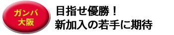 【ガンバ大阪】目指せ優勝!新加入の若手に期待