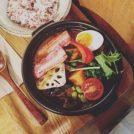 川口、雑穀米カフェ食堂「SHO-AN」の野菜たっぷりスープカレーであったか!